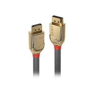CÂBLE AUDIO VIDÉO Lindy Gold Câble DisplayPort DisplayPort (M) pour