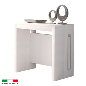 console extensible achat vente console extensible pas cher cdiscount. Black Bedroom Furniture Sets. Home Design Ideas