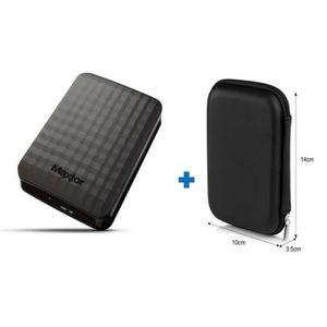 DISQUE DUR EXTERNE Maxtor Disque Dur externe M3 1To USB3.0 + 1 Housse