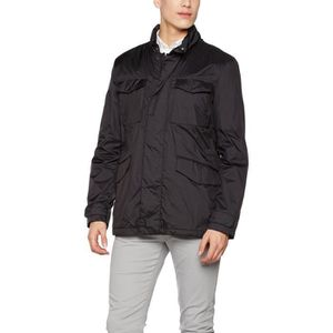 Geox L'homme manteau de veste 3QNFPZ Taille XL Noir Achat