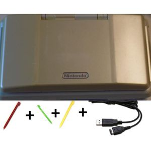 CONSOLE DS LITE - DSI CONSOLE NINTENDO DS FAT BLANCHE + CABLE + STYLET