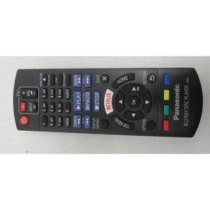 TÉLÉCOMMANDE TV TELECOMMANDE  POUR LECTEUR DVD BLU RAY PANASONIC