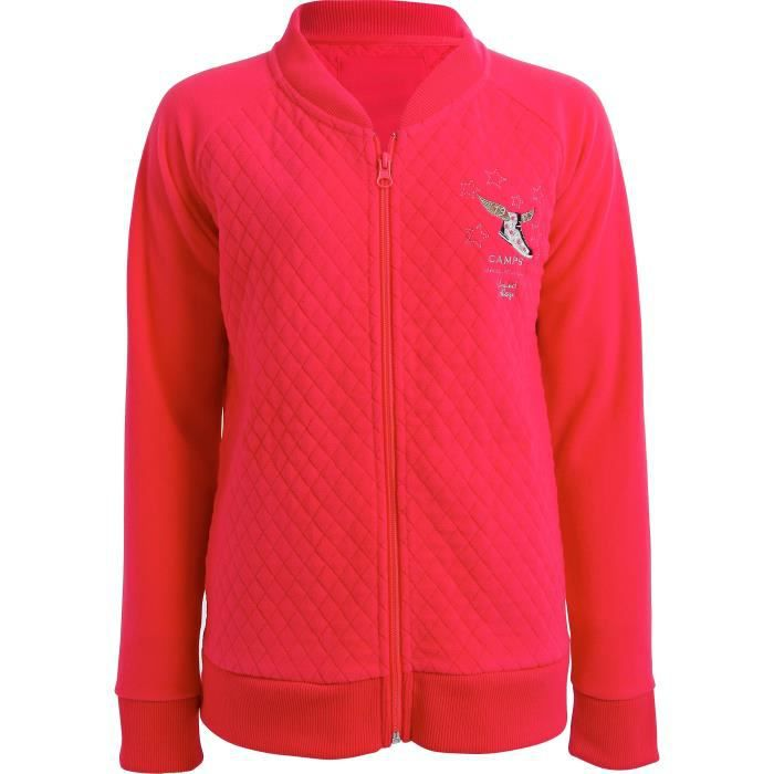 CAMPS Veste Sweat Zippée Camps Enfant Fille