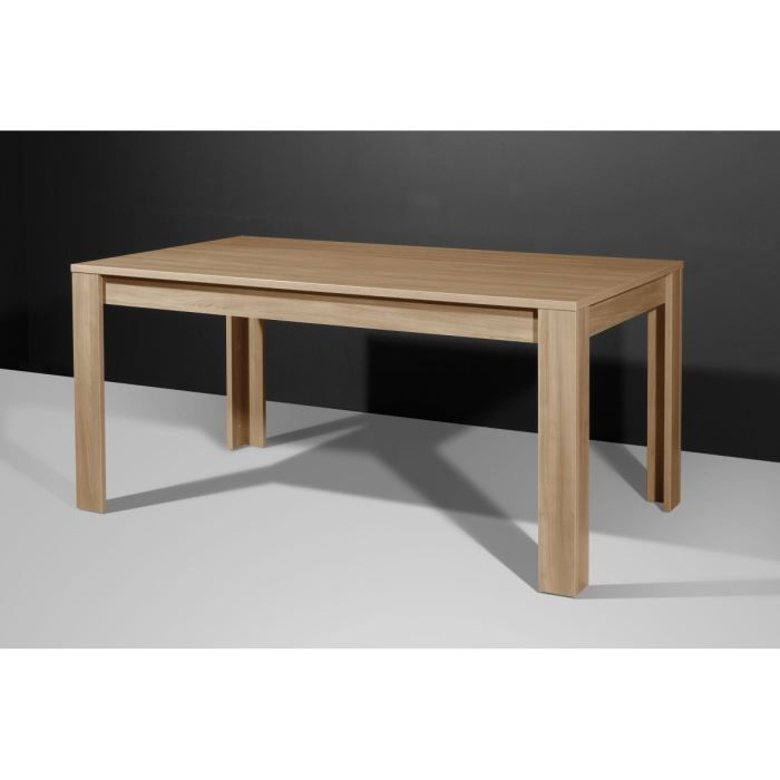 Monte carlo table manger 160x160 cm marron achat - Achat table a manger ...