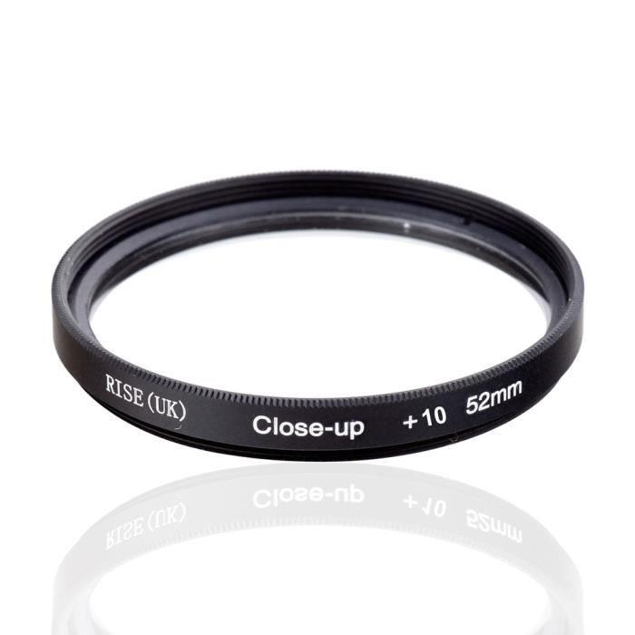Accessoires objectifs,Gros plan Macro filtre + 1 + 2 + 4 + 8 + 10 gros plan pour Canon Nikon Sony appareil - Close-UP 10-77mm #B