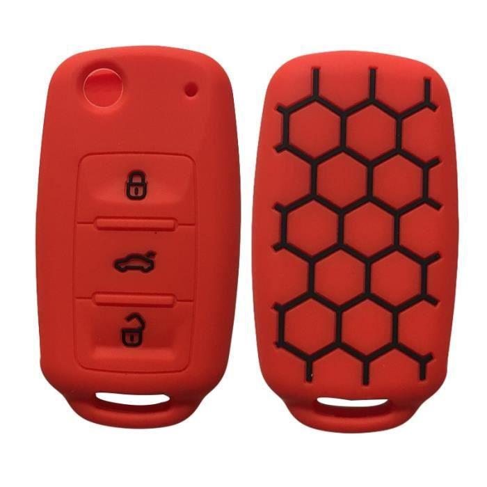 Porte clés pour voiture, accessoire pour véhicule, VW, volkswagen, Polo, Bora, Tiguan, Passat, Golf 6, Rouge