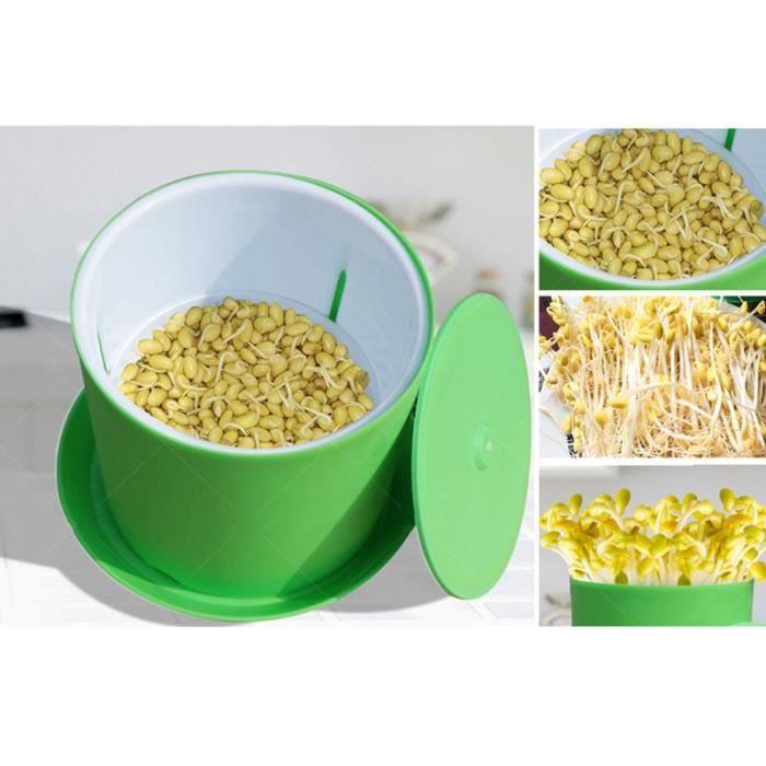 GLO Semences Germoir Germination Couverture Haricot Germes Filtre Peut Pot Germination Net Jardinage D'approvisionnement