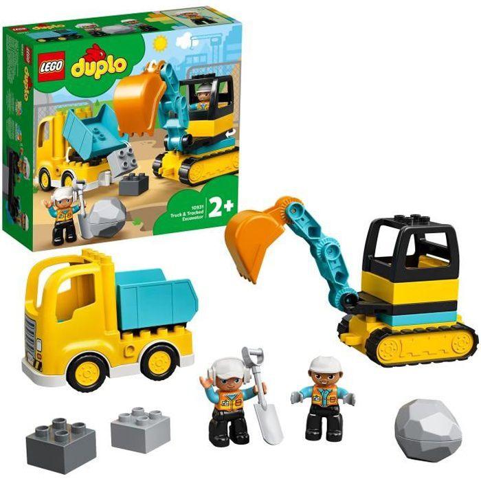 LEGO® DUPLO® Construction 10931 Le camion et la pelleteuse