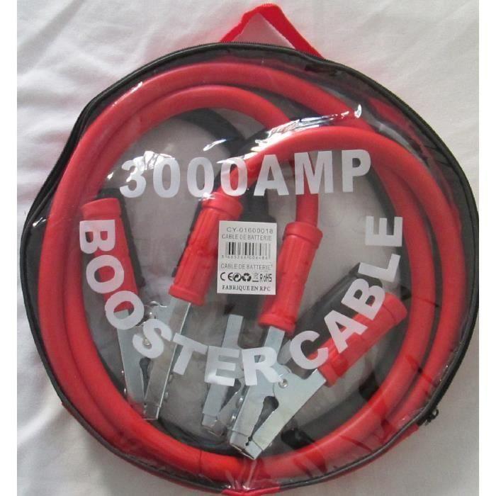 Cable de démarrage voiture 3000 ampère