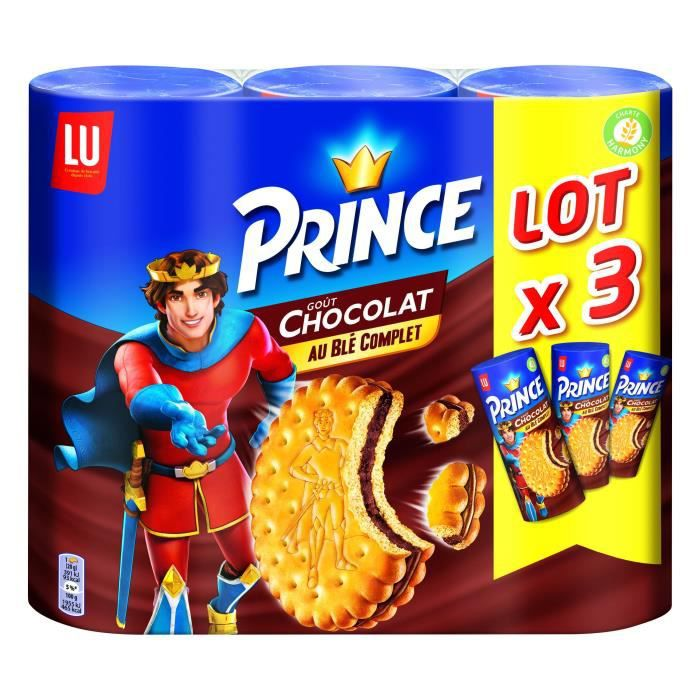 Prince biscuits chocolat 3x300g