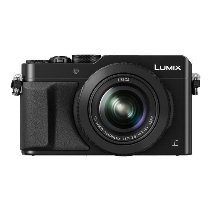 PANASONIC Lumix DMCLX100EPK Appareil Photo compact - Noir