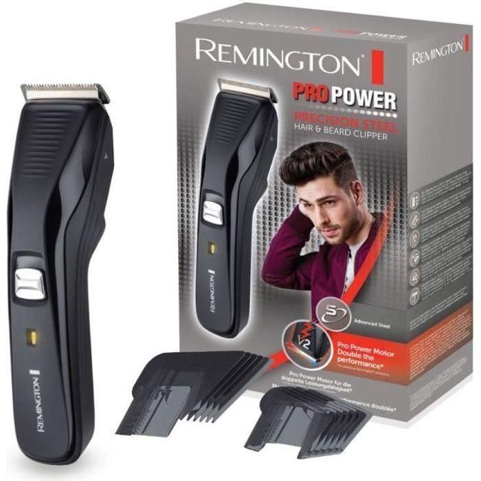 Remington HC5200 Tondeuse Cheveux Pro Power Ajustable 16 Hauteurs, Lames Auto-Affûtées