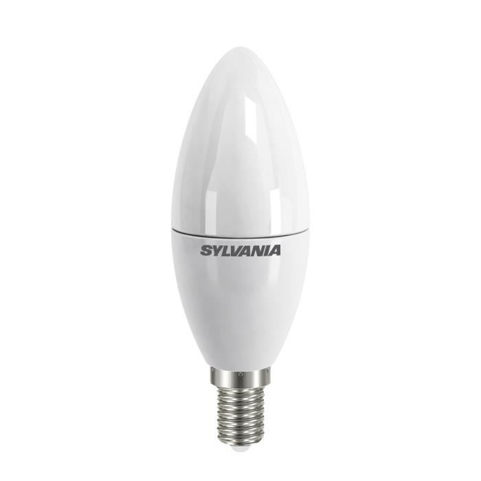 SYLVANIA Ampoule LED Toledo Candle Frosted E14 6W équivalence 40W