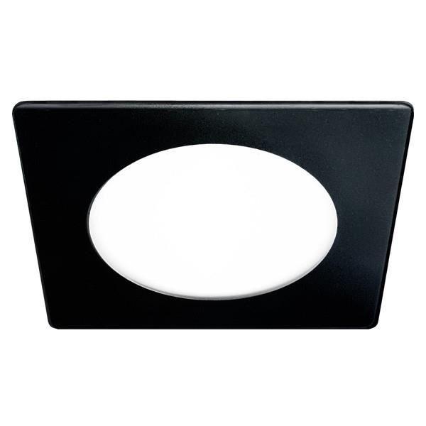 Spots - Ligne De Spots - Wonderlamp - Downlight LED Carré 20W verre (noir)