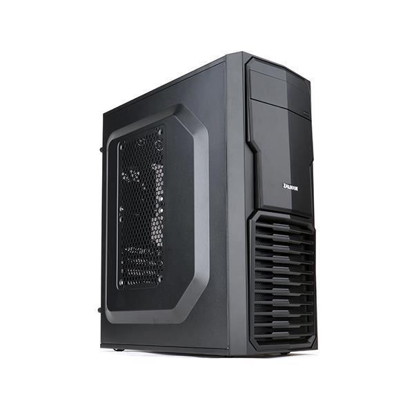 Zalman ZM-T4, Mini-Tour, PC, Micro-ATX,Mini-ITX, Noir, 30 cm, Bas