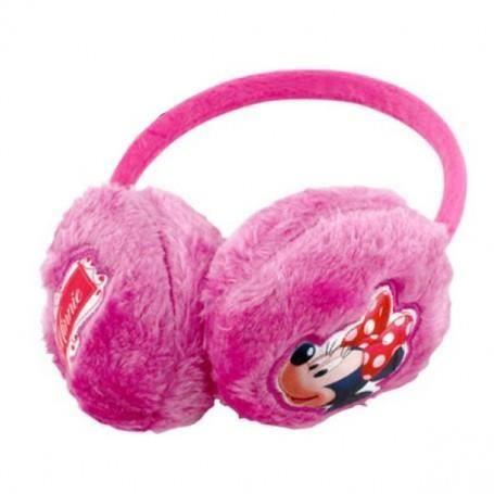 BONNET - CAGOULE Minnie : Cache oreilles fuschia disney