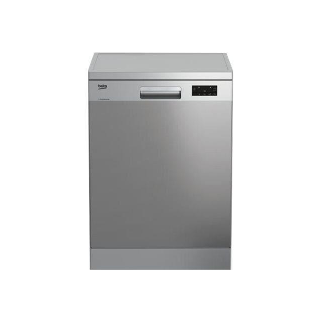 LAVE-VAISSELLE Beko DFN16410X Lave-vaisselle pose libre Niche lar