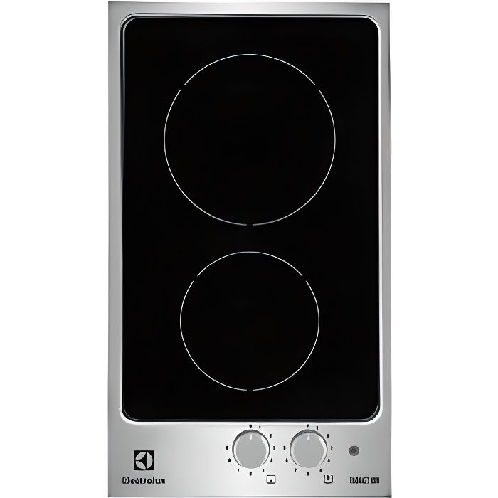 domino de cuisson 30cm induction electrolux ehh achat vente plaque induction cdiscount. Black Bedroom Furniture Sets. Home Design Ideas