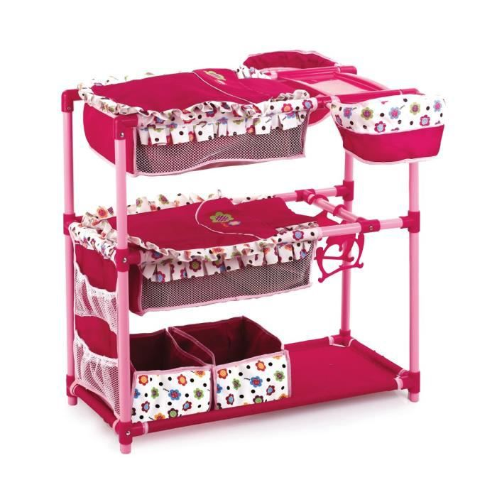 Table langer pour poup e twin center multi fonctions for Accessoire table a langer