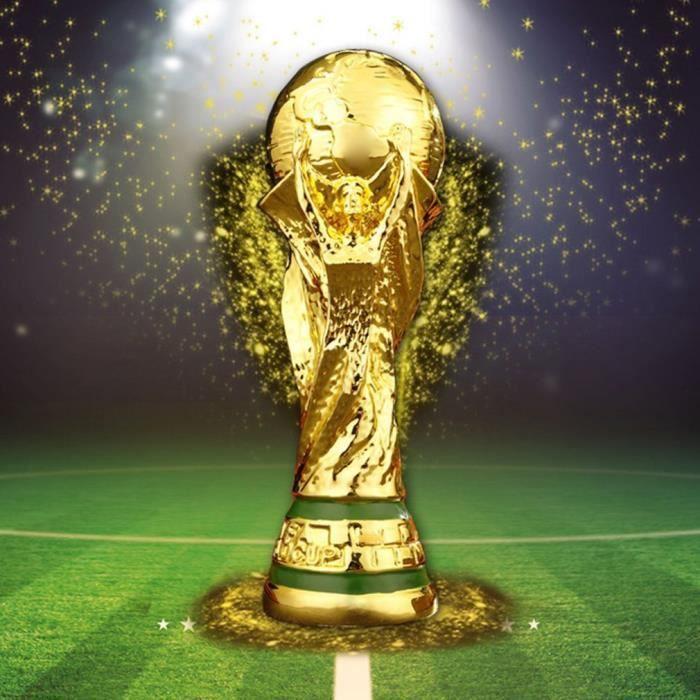 RF833C Personnalisé 5 pouces argent//or football résine trophy