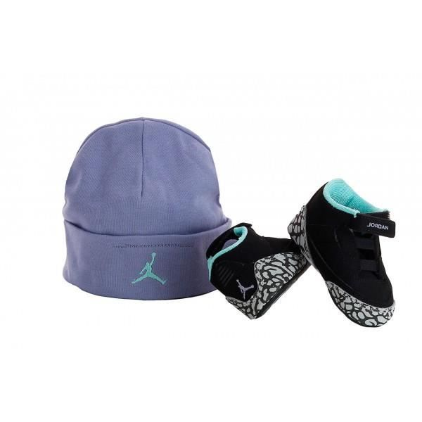pack bonnet basket nike air jordan 3 retro b b td. Black Bedroom Furniture Sets. Home Design Ideas