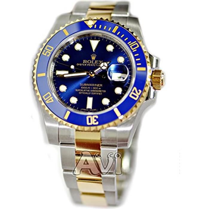 montre rolex submariner date achat vente montre cdiscount. Black Bedroom Furniture Sets. Home Design Ideas