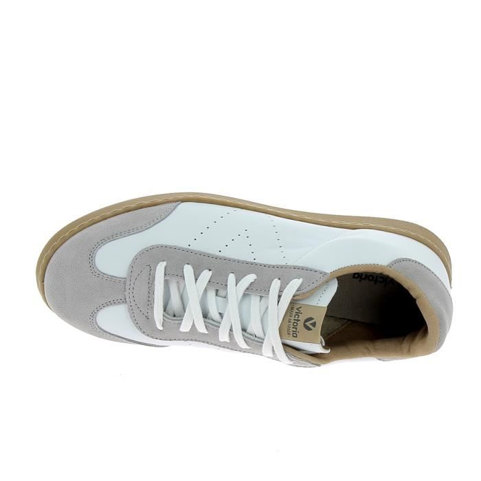 Basket mode - Sneakers VICTORIA Sneakers 1125146 Blanc Marron Clair