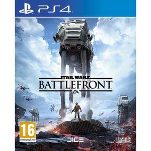 JEU PS4 Star Wars Battlefront Jeu PS4