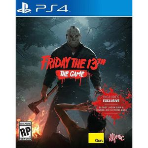 JEU PS4 Friday The 13th The Game Jeu PS4