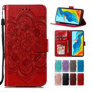 HOUSSE - ÉTUI Étui Xiaomi Redmi Note 8 Pro, Folio Cuir Mandala F