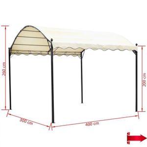 TONNELLE - BARNUM Chapiteau de Jardin 4 x 3 x 2,6 m (L x l x H) tonn