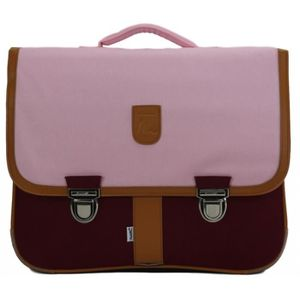 CARTABLE CARTABLE 41 CM ROSE ET BORDEAUX-MINISERI 41x16x33
