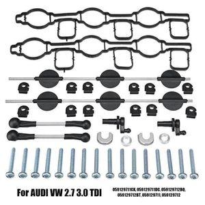 059129711CK 059129711DC Kit de r/éparation de volets de tourbillon de tubulure dadmission compatible avec Audi