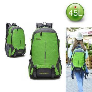 Imperméable 45 l de Voyage Randonnée Sac à dos Outdoor Sport Camping Jour Sac à Dos Sac