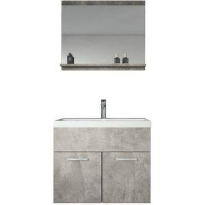 SALLE DE BAIN COMPLETE Meuble de salle de bain Montreal 02 60 cm lavabo B