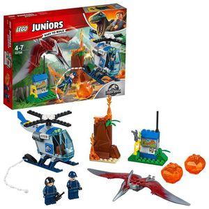 ASSEMBLAGE CONSTRUCTION Lego Juniors Jurassic monde Pteranodon Évasion pou