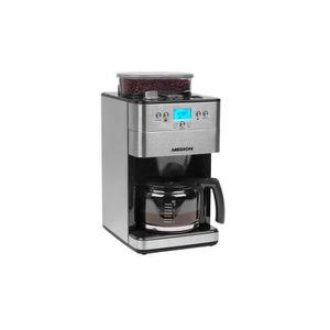 MACHINE À CAFÉ MEDION Cafetière filtre programmable avec broyeur
