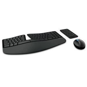 CLAVIER D'ORDINATEUR Microsoft Sculpt Ergonomic Desktop, RF sans fil, A
