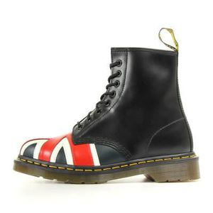 BOTTINE Doc Martens Union jack 8 eye boot