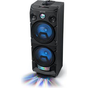ENCEINTE COLONNE MUSE Party Box Enceinte colonne Bluetooth -Jeu de