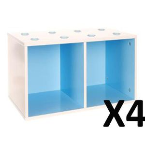 etagere cube bleu achat vente etagere cube bleu pas cher cdiscount. Black Bedroom Furniture Sets. Home Design Ideas