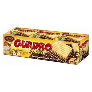 CARTE GRAPHIQUE INTERNE Cémoi Quadro Pocket (lot de 4)
