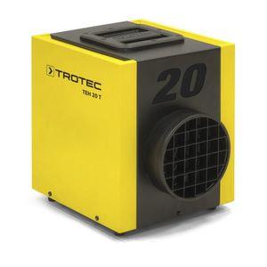RADIATEUR D'APPOINT Chauffage électrique de chantier 2500W jaune noir