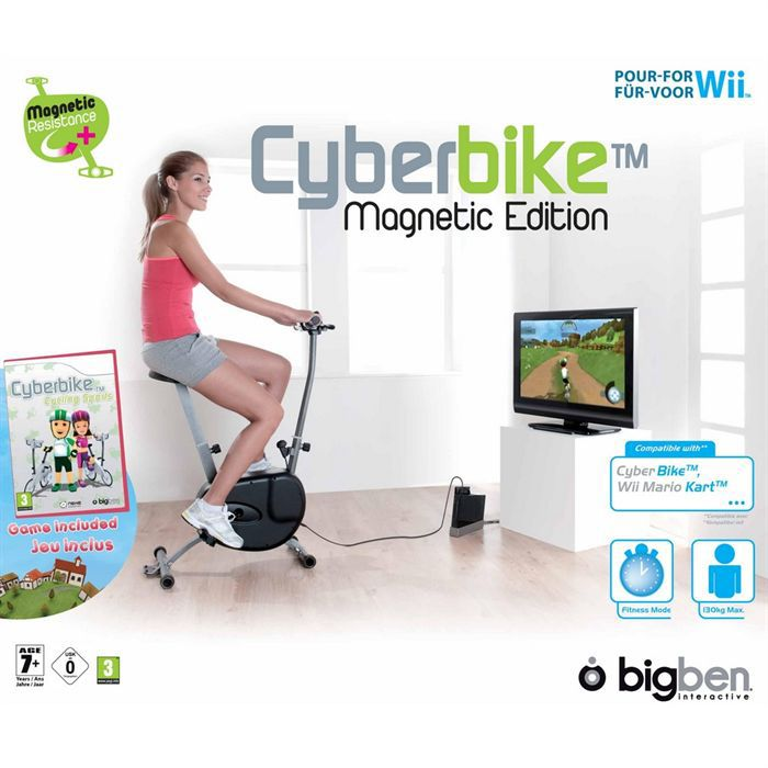 JEUX WII CYBERBIKE MAGNETIC EDITION WII