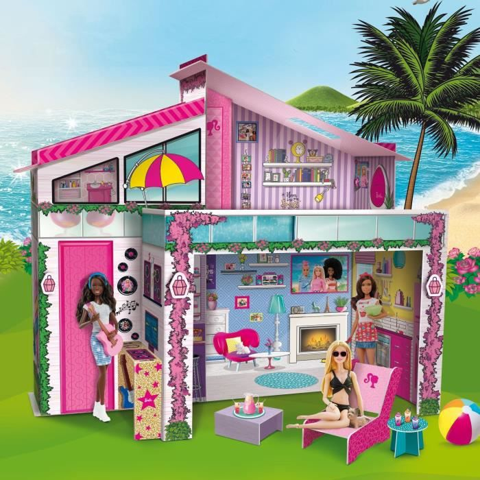 BARBIE Dream Summer Villa Pour Enfant - Maison de poupées