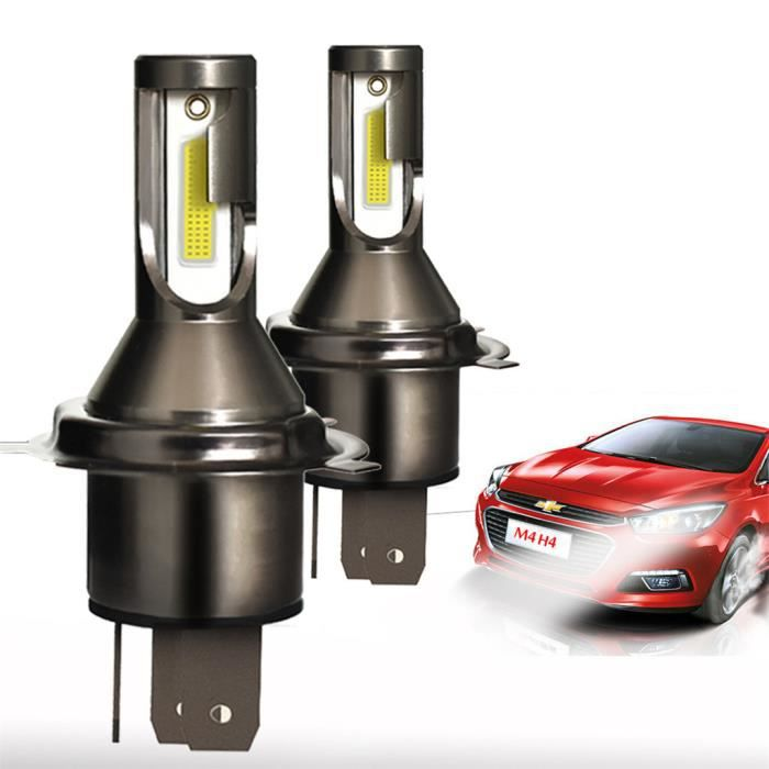 LED H4 Ampoules bi-xénon Salut - Lo 110W 26000LM Conversion lampe Kit phares 2pcs WSB90220635