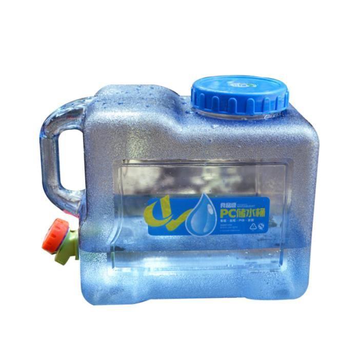 1 pc pratique 8L porte-eau extérieur sac d'eau réservoir de transport pour l'équitation BOUTEILLE ISOTHERME - BOUTEILLE ISOLANTE