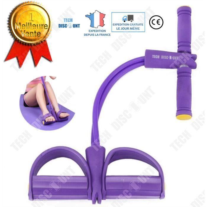 Bande de résistance fitness musculation yoga pour traction élastique sport gymnastique latex mousse ventre multifonction stretch
