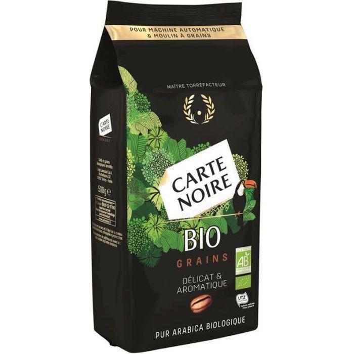 CARTE NOIRE Café en grains - Bio - 500 g