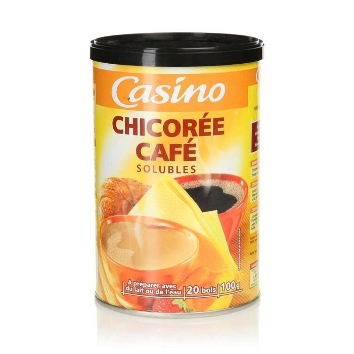 Chicorée Café solubles - La boite fer de 100 g